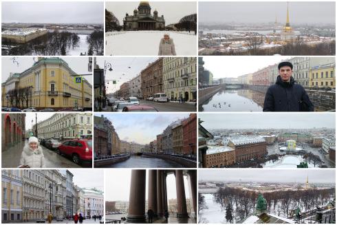 Санкт-Петербург в декабре 2019